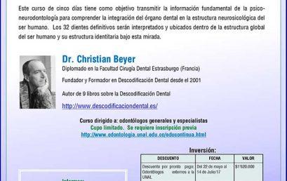 DESCODIFICACION DENTAL – Otra visión y comprensión de los dientes del ser humano – PSICO-NEURODONTOLOGIA